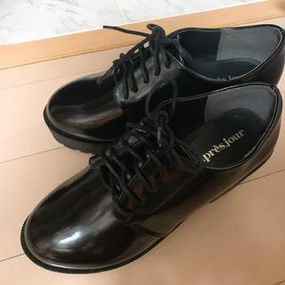 ワンアフターアナザーナイスクラップ(one after another NICE CLAUP)の厚底レースアップシューズ(ローファー/革靴)