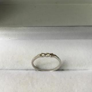 ダイヤ★K18WG ★リング(リング(指輪))