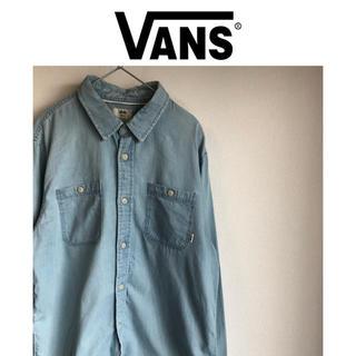ヴァンズ(VANS)の希少 ビンテージ古着 美品 バンズ VANS デニムシャツ(シャツ)