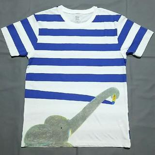 Design Tshirts Store graniph - グラニフ ぼくのくれよん 大人 Tシャツ