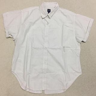 ギャップ(GAP)の【新品未使用】ギャップ ロールスリーブシャツ(シャツ/ブラウス(半袖/袖なし))