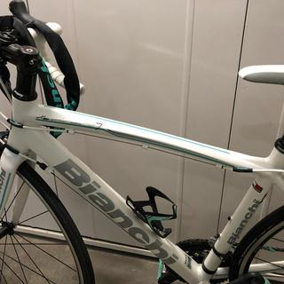 ビアンキ(Bianchi)のロードバイク Bianchi サイコンとタイヤとチューブとライト付(自転車本体)