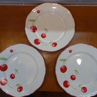 リチャードジノリ(Richard Ginori)のRichard ginori プレート27㎝ アンティコチェリー 3枚(食器)