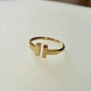 ティファニー(Tiffany & Co.)のTiffany Tワイヤーリング Tiffany & Co. (リング(指輪))
