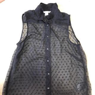エイチアンドエム(H&M)のH&トップス(シャツ/ブラウス(半袖/袖なし))