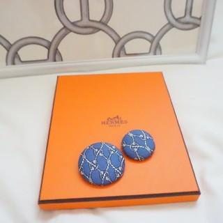 エルメス(Hermes)のエルメス くるみボタン 2個セット(ヘアアクセサリー)