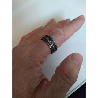 シルバーリング 燻し銀 (リング(指輪))