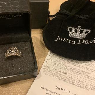 ジャスティンデイビス(Justin Davis)のジャスティンデイビス 9号 SRJ366(リング(指輪))