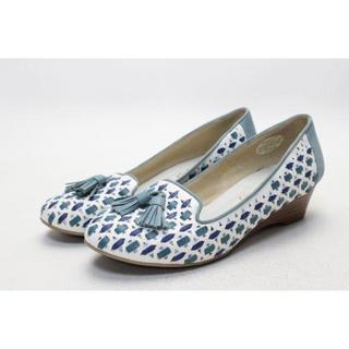 マドラス(madras)の50■MODELLO タッセルオペラパンプス(23cm)美品(ローファー/革靴)