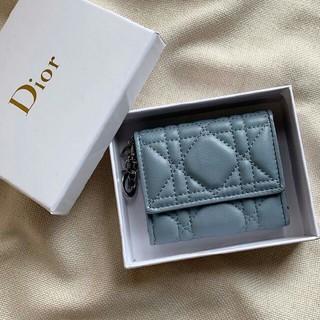 ディオール(Dior)のDior 折り財布 三つたたみ レディース 小銭入れ、カード入れ(財布)
