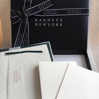 バーニーズニューヨーク(BARNEYS NEW YORK)のバーニーズニューヨーク メッセージカードセット(カード/レター/ラッピング)