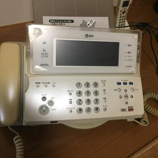 NTT FAX電話機  P-757LDII