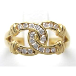 最終価格 お値引き不可 K18 合計0.25ct 天然ダイヤリング(リング(指輪))