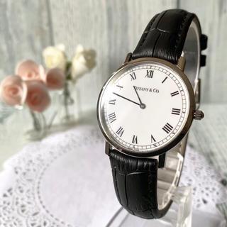 Tiffany & Co. - 【美品】TIFFANY&Co ティファニー 腕時計 クラシック メンズ