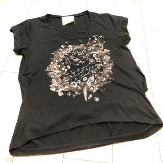 ミスティウーマン(mysty woman)のミスティウーマン ブラックTシャツ(Tシャツ(半袖/袖なし))