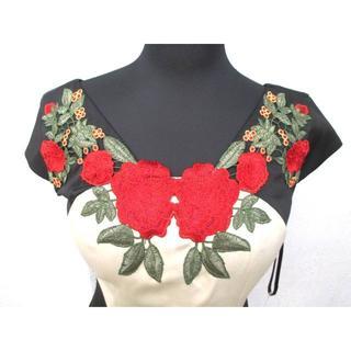 デイジーストア(dazzy store)の新品タグ付*Alice*M*薔薇刺繍*高級ドレスライン*(ミディアムドレス)