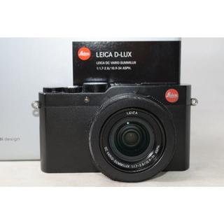 ライカ(LEICA)の☆展示品☆ライカ LEICA D-LUX Typ 109 ブラック ☆元箱(コンパクトデジタルカメラ)
