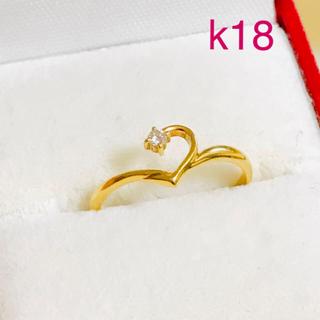 STAR JEWELRY - K18 ダイヤモンドリング スタージュエリー