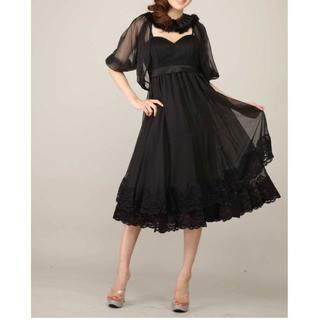 デイジーストア(dazzy store)の新品タグ付*S*ボレロ付ドレス*Luxe Style(ミディアムドレス)