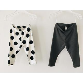 エイチアンドエム(H&M)の《新品》H&M♡ベビー レギンス 2枚セット(パンツ)