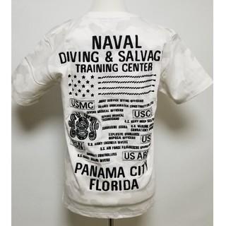 アヴィレックス(AVIREX)のAVIREX/EMB TEE DIVING&SALVAGE☆Lサイズ新品タグ付き(Tシャツ/カットソー(半袖/袖なし))