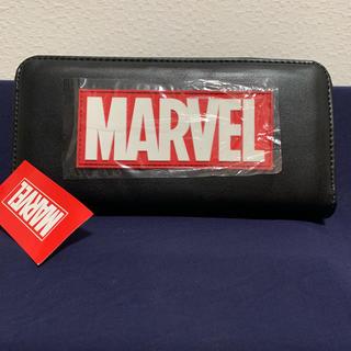 マーベル(MARVEL)のMARVEL 長財布 ブラック 新品未使用!(長財布)