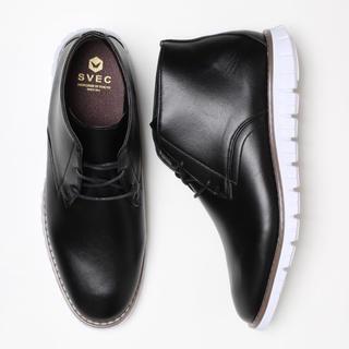 ハルタ(HARUTA)の新品 SVEC 26.0cm ブーツ スニーカー 黒 ブランド 革靴 韓国 夏秋(スニーカー)