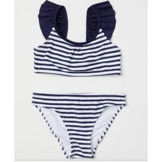 エイチアンドエム(H&M)の新品 未使用 H&M 子供 女の子 水着 ビキニ(水着)