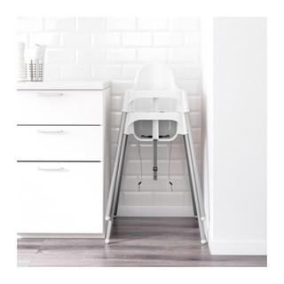 イケア(IKEA)のハイチェア(セーフティベルト+クッション付き)(その他)