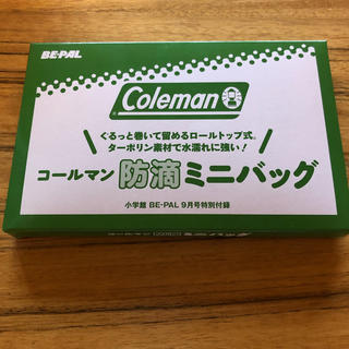 Coleman - コールマン ビーパル  防滴ミニバッグ