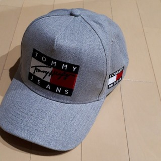 TOMMY HILFIGER - 新品トミーフィルガーTOMMYキャップグレー
