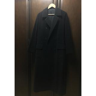 ヨウジヤマモト(Yohji Yamamoto)のロングコート ブラック(チェスターコート)