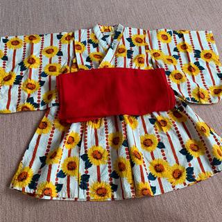 アンパサンド(ampersand)の浴衣ドレス 100(甚平/浴衣)