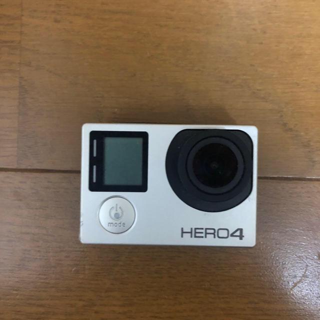 GoPro(ゴープロ)のgopro hero4 スマホ/家電/カメラのカメラ(コンパクトデジタルカメラ)の商品写真