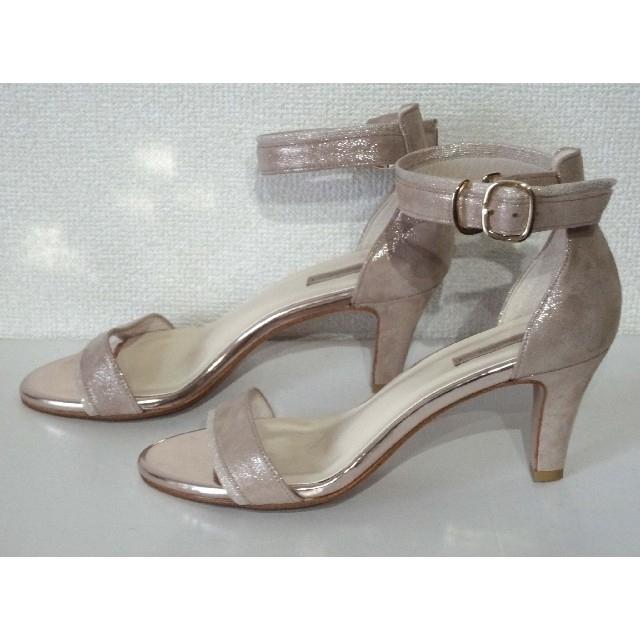 AU BANNISTER(オゥバニスター)のAu BANNISTER(オゥバニスター)アンクルストラップサンダル 37 レディースの靴/シューズ(サンダル)の商品写真