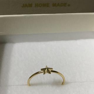 ジャムホームメイドアンドレディメイド(JAM HOME MADE & ready made)のJAM  HOME  MADE     K10   ロイヤルスタースタッズリング(リング(指輪))