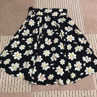 イーハイフンワールドギャラリー(E hyphen world gallery)の花柄スカート(ひざ丈スカート)