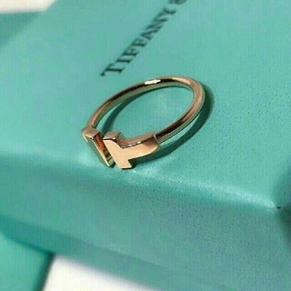 Tiffany & Co. - 本物!ティファニー T字リング