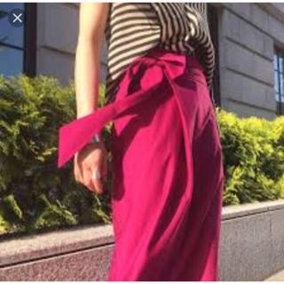 トゥモローランド(TOMORROWLAND)の新品タグ DES PRES 1.6万 コットンジャージー スカート デプレ(ひざ丈スカート)