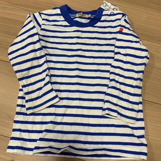 ミキハウス(mikihouse)のミキハウス ボーダー Tシャツ (Tシャツ)