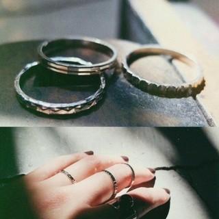 マザー(mother)のVTOPIA TRINITY RING(リング(指輪))