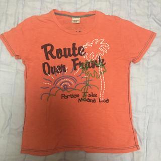 カルルワ(Kaluluwa)のTシャツ500円均一  KALULUWAハワイアン  メンズMサイズ(Tシャツ/カットソー(半袖/袖なし))
