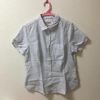 エイチアンドエム(H&M)のH&M 半袖 チェックシャツ(シャツ/ブラウス(半袖/袖なし))