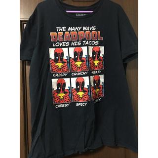 マーベル(MARVEL)の  デッドプール    Tシャツ(Tシャツ/カットソー(半袖/袖なし))