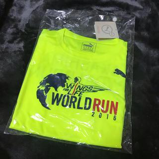 プーマ(PUMA)の【新品レア】PUMA WORLD RUN2016 Tシャツ(Tシャツ(半袖/袖なし))