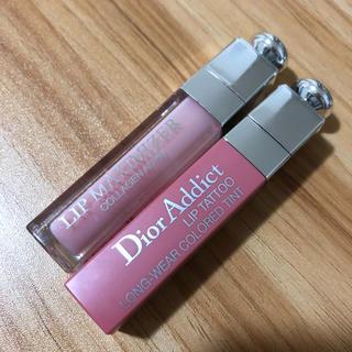 ディオール(Dior)のDIOR マキシマイザー アディクトリップ 2本セット(リップグロス)