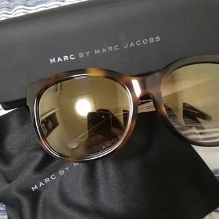 マークバイマークジェイコブス(MARC BY MARC JACOBS)の【美品】マークジェイコブス サングラス(サングラス/メガネ)