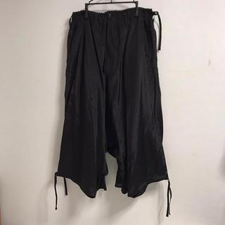 Yohji Yamamoto - yohji yamamoto 19ss カラスパンツ サルエルパンツ 前後履き