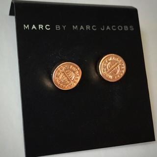 マークバイマークジェイコブス(MARC BY MARC JACOBS)の【新品】MARC BY MARC JACOBS  ピアス ゴールド ◡̈*(ピアス)
