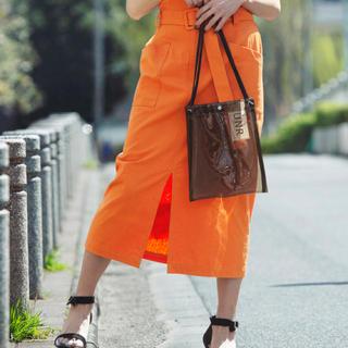 オレンジスカート(ロングスカート)